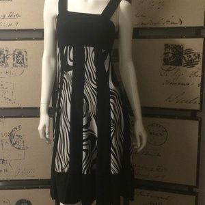Papillon 🦓 zebra print sleeveless dress